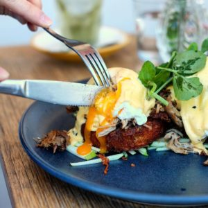 Mary Miller: Pulled pork benedict