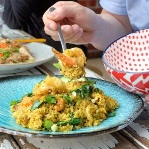 Son In Law: Pineapple fried rice