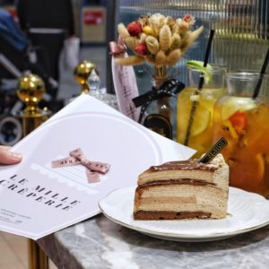 Le Mille Creperie: Rocher crepe cake