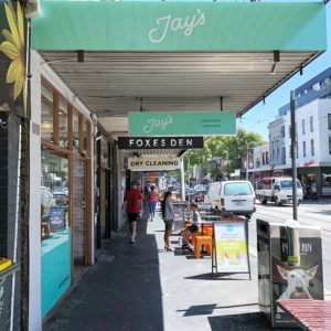 Jay's: Store from the street