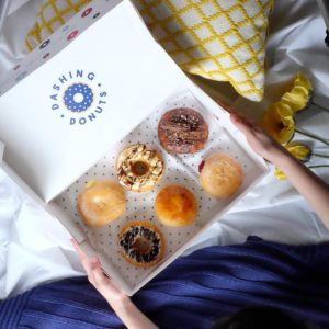 Dashing Donuts: Box of six