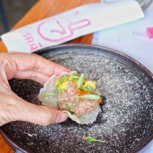 Rock Sugar: Spiced thai tuna tartare