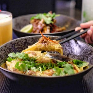 Chinacy: Chicken and scallop dumplings