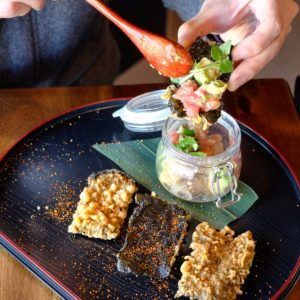 Ro Brighton: Fish tartare