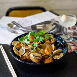 David's: Clams with XO sauce