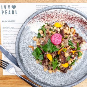 Ivy and Pearl: Slow cooked lamb shoulder salad
