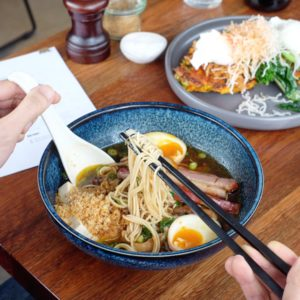 Bicycle Thieves: Breakfast ramen