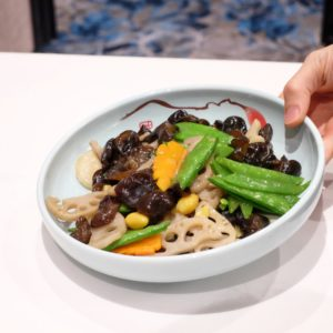 Sun Kitchen: Stir-fried country style mixed vegetable
