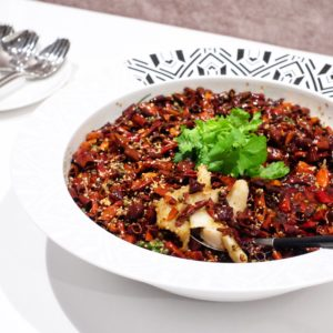 Sun Kitchen: Sizzling fish fillet in hot chilli oil