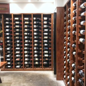 Sun Kitchen: Upstairs wine cellar