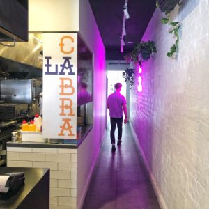La Cabra Mexican: Through to the back