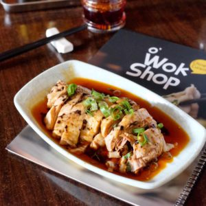 OWok Shop: Steamed chicken with special chilli oil
